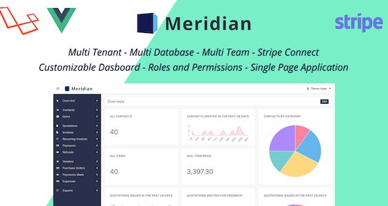 Meridian - SAAS Platform for Invoicing and Purchasing