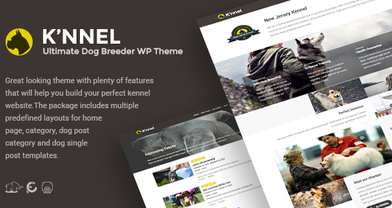 Knnel - Ultimate Dog Breeder WP Theme V1.1