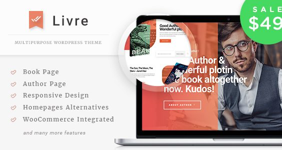 Livre - WooCommerce Theme For Book Store