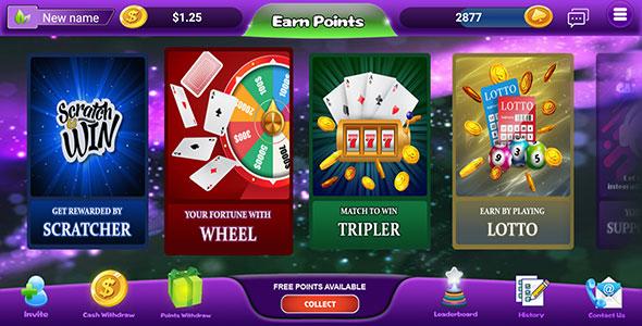 MintReward - gaming edition of rewards app incl Backend