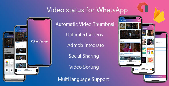 Multiple Language Video Status - iPhone App with Admin Panel