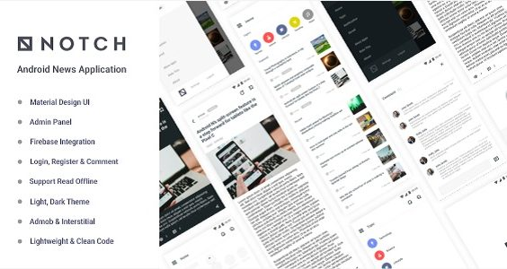 Notch - Android News Application 1.0
