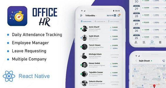 Office HR - Attendance, Employee Tracking , Leaves & Notice  Board: Smart Business Tracker