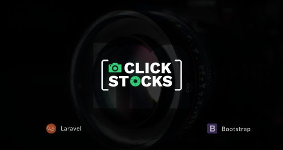 Click Stocks - Free Stock Photos Laravel Script