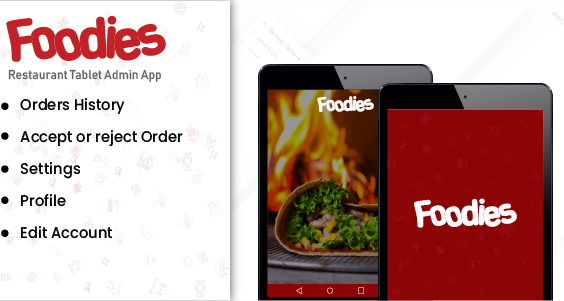 Foodies - Android Native Order Taking  Restaurant App
