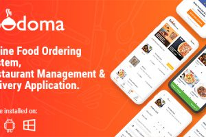 Foodoma - Multi-restaurant Food Ordering, Restaurant Management and Delivery Application