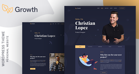 Growth – Personal Portfolio Theme