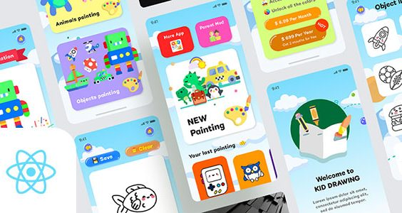 Kids Draws - React Native App