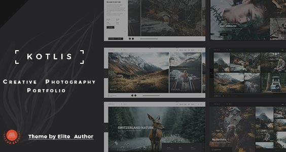 Kotlis -  Photography Portfolio WordPress Theme