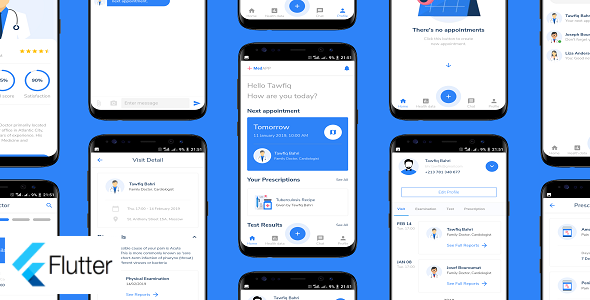 MedAPP: Medical Appointment Booking App UI