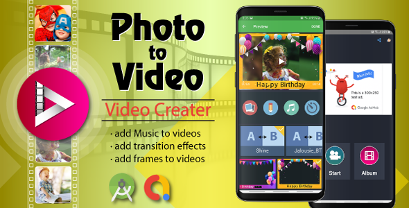 Photo Video Maker With Music - Android Source Code