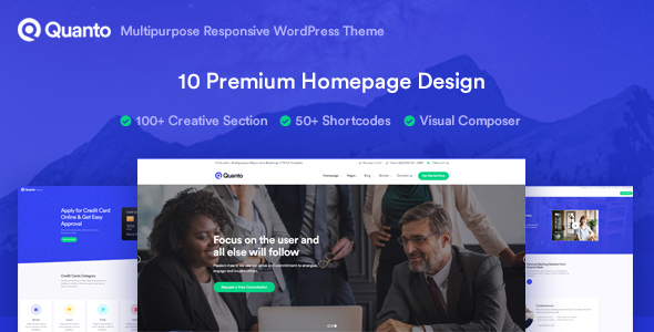 Quanto - Business Responsive WordPress Theme