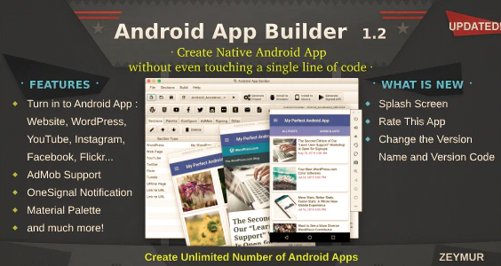 Android App Builder WebView