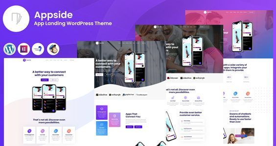 Appside - App Landing WordPress Theme