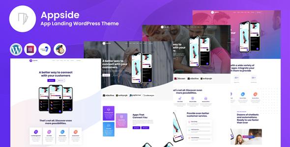 Appside - App Landing WordPress Theme