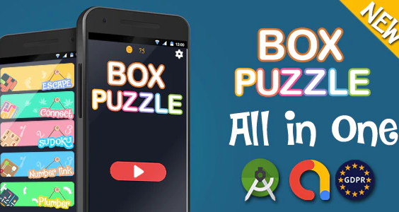 Box puzzle game for Android