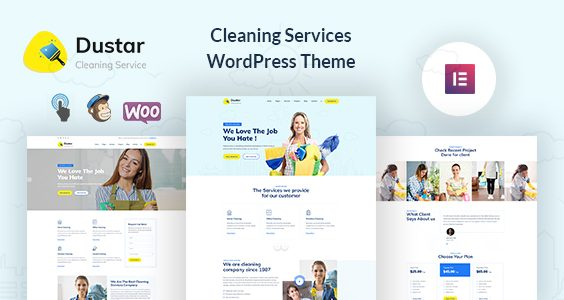 Dustar – Cleaning Services WordPress Theme