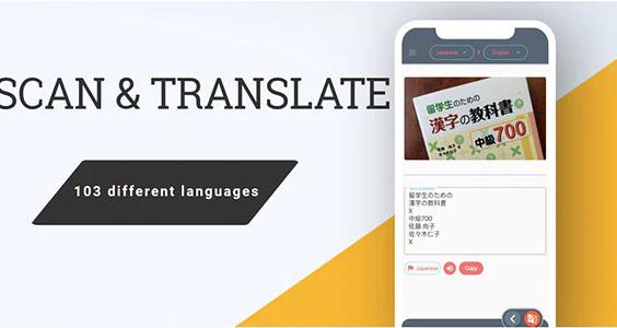 Flutter Scan and translate App