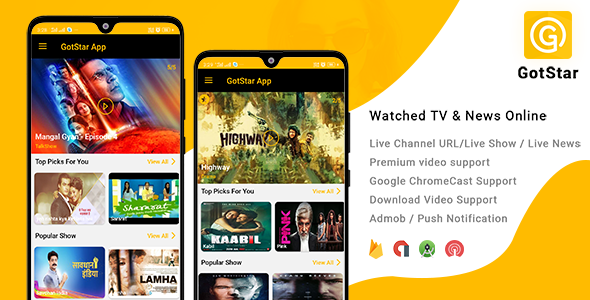 GotStar - Live Streaming / Live TV - Watch TV Shows, Movies, Live Cricket Matches & News Online