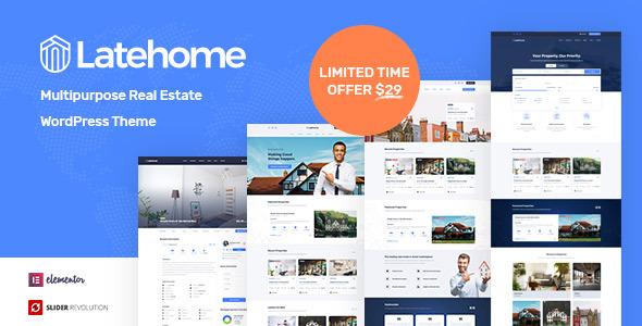 LateHome - Real Estate WordPress Theme