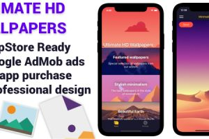 Ultimate HD Wallpapers iOS App
