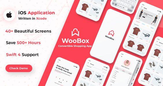 WooBox - Native iOS App Swift 4 for WooCommerce