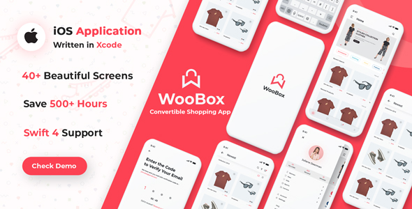 WooBox - Native iOS App Swift 4 for WooCommerce