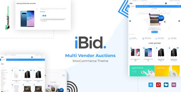 iBid - Multi Vendor Auctions WooCommerce Theme