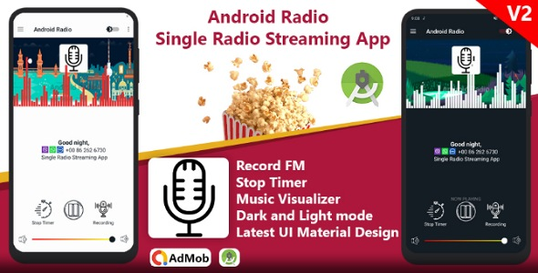 Android Radio - Single Radio Streaming App