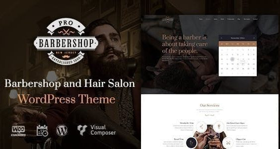 Barbershop | WordPress Theme