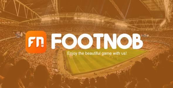 FootNob- Soccer Live Score, Fixtures, Stats App