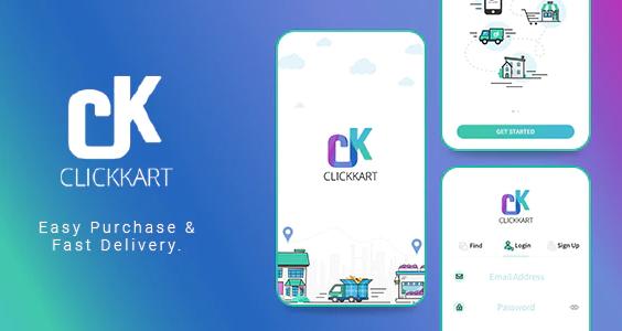 Multi Vendor Shopping Cart eCommerce App Clickkart