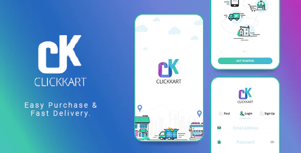 Multi Vendor Shopping Cart eCommerce App Clickkart