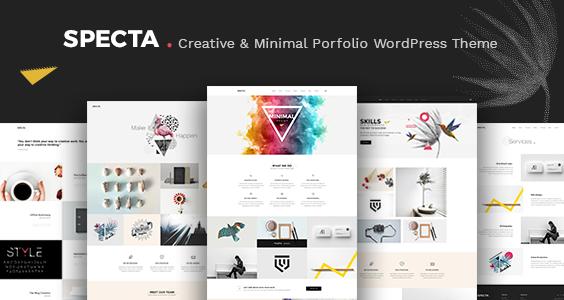 Specta - Multipurpose Portfolio WordPress Theme
