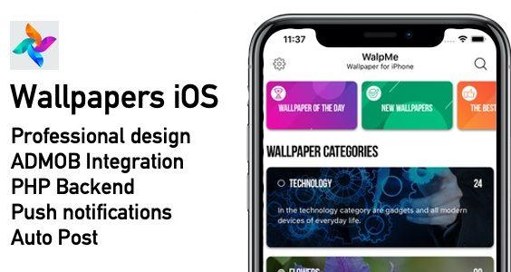 Wallpapers Native IOS App