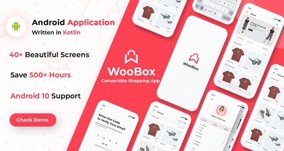 WooBox - Native Android App for WooCommerce