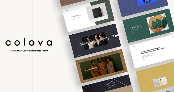 Colova - Clean & Multi-Concept WordPress Theme