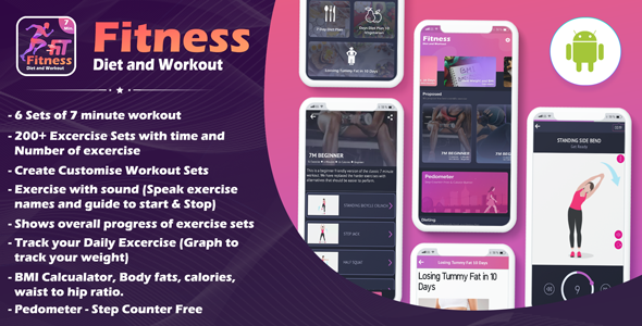 Fitness Diet & Workout App