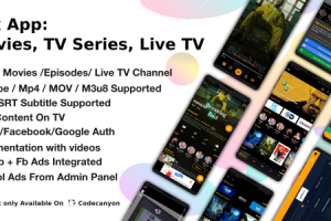 Flix App Movies - TV Series - Live TV Channels - TV Cast