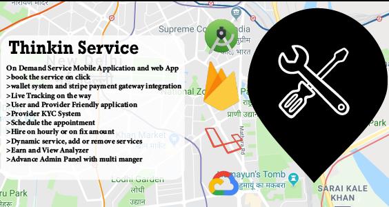 Thinkin Services | On Demand Service App | Urbanclap Clone
