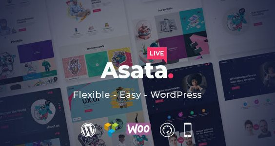 Asata - Responsive Multi-Purpose WordPress Theme
