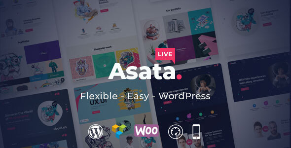 Asata - Responsive Multi-Purpose WordPress Theme