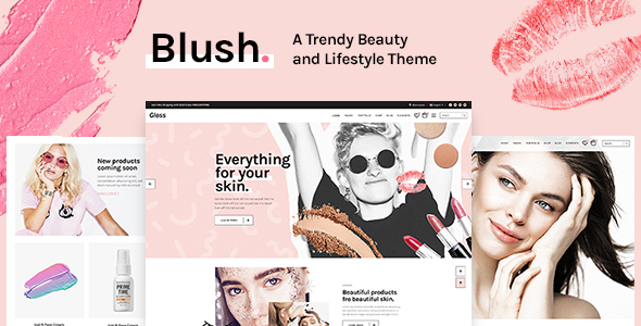 Blush - A Trendy Beauty and Lifestyle Theme
