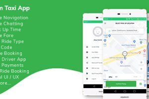 Kareem Taxi App - Cab Booking Solution + admin panel