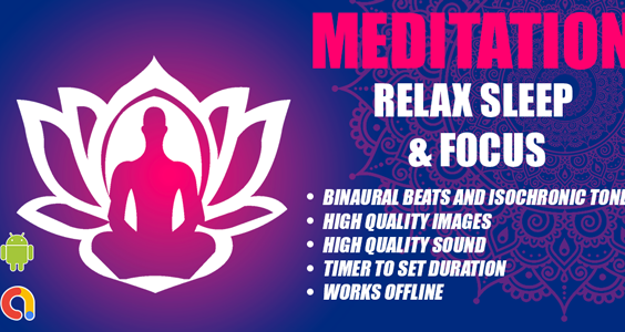 Maditation Relax Music App | Android Full Apps