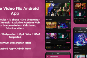 Prime Video Flix App: Movies - Shows - Live Streaming - TV - Web Series - Premium Subscription Plan