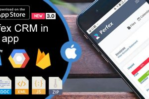 Weboox Convert - Perfex CRM to app iOS