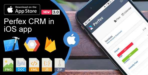 Weboox Convert - Perfex CRM to app iOS