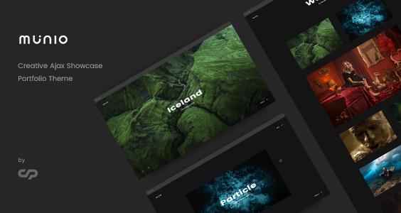 Munio - Creative Portfolio Theme