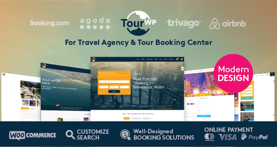 Tour Travel Booking WordPress Theme